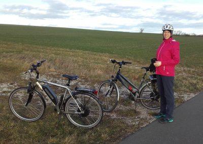 E-Bikes beide